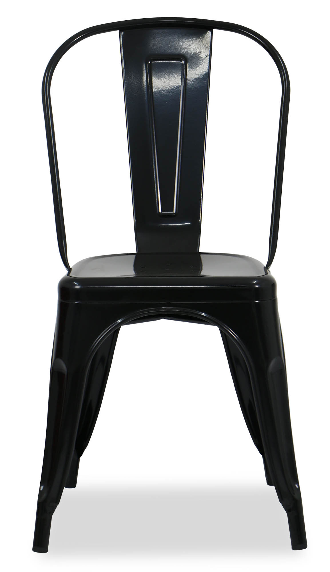 Retro metal chair black furniture home décor fortytwo