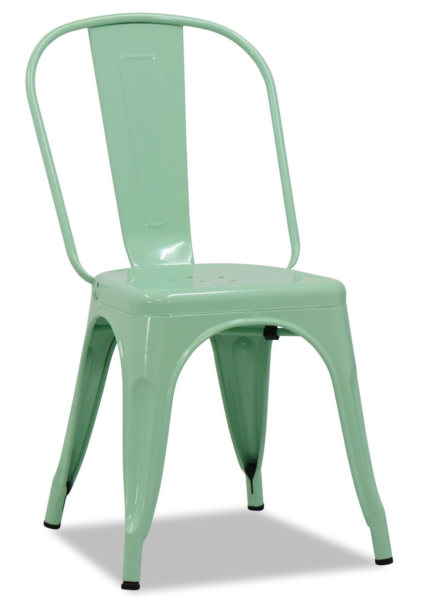 Charmant Retro Metal Chair Mint
