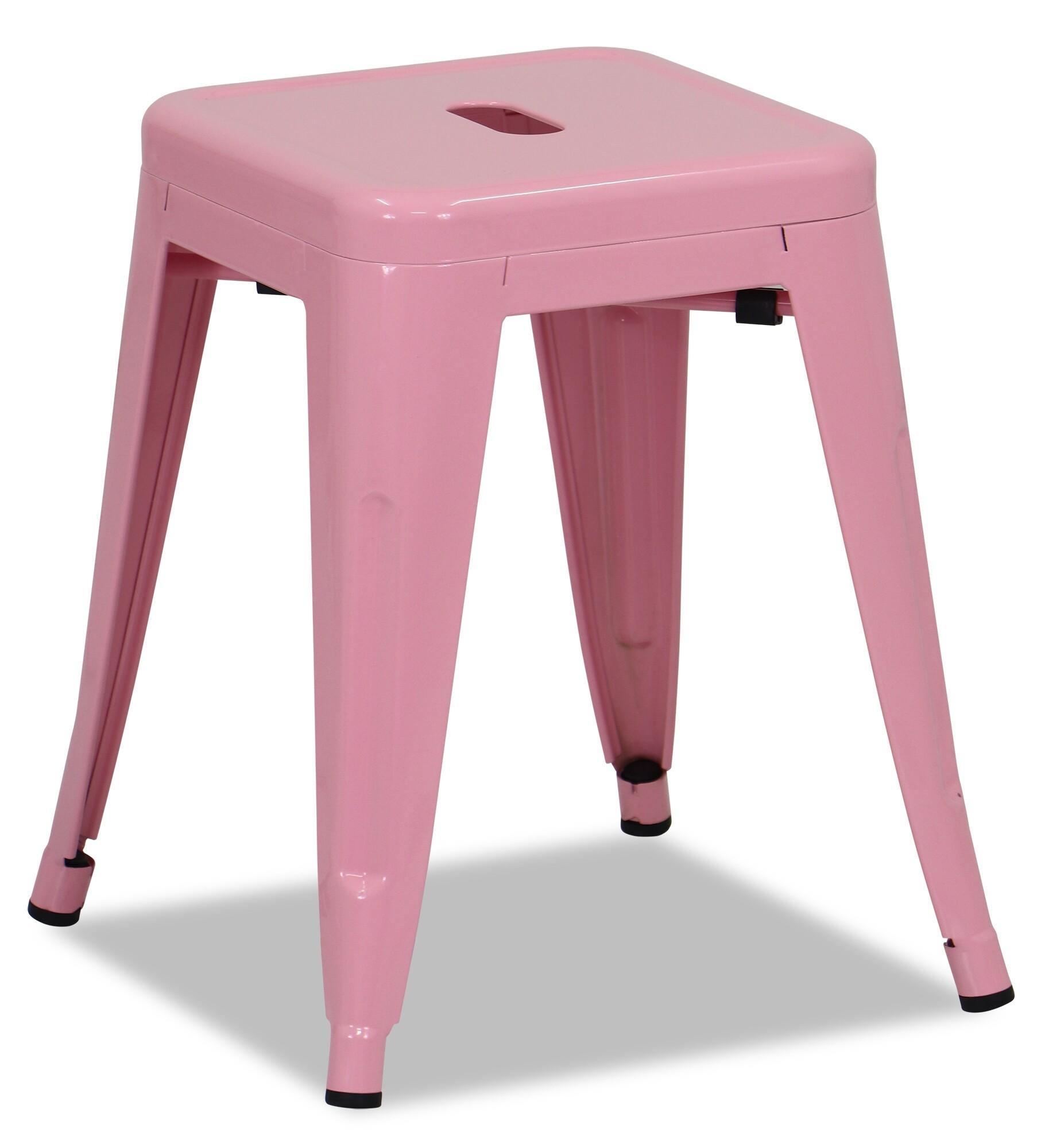 Retro Metal Regular Stool Light Pink Furniture Amp Home