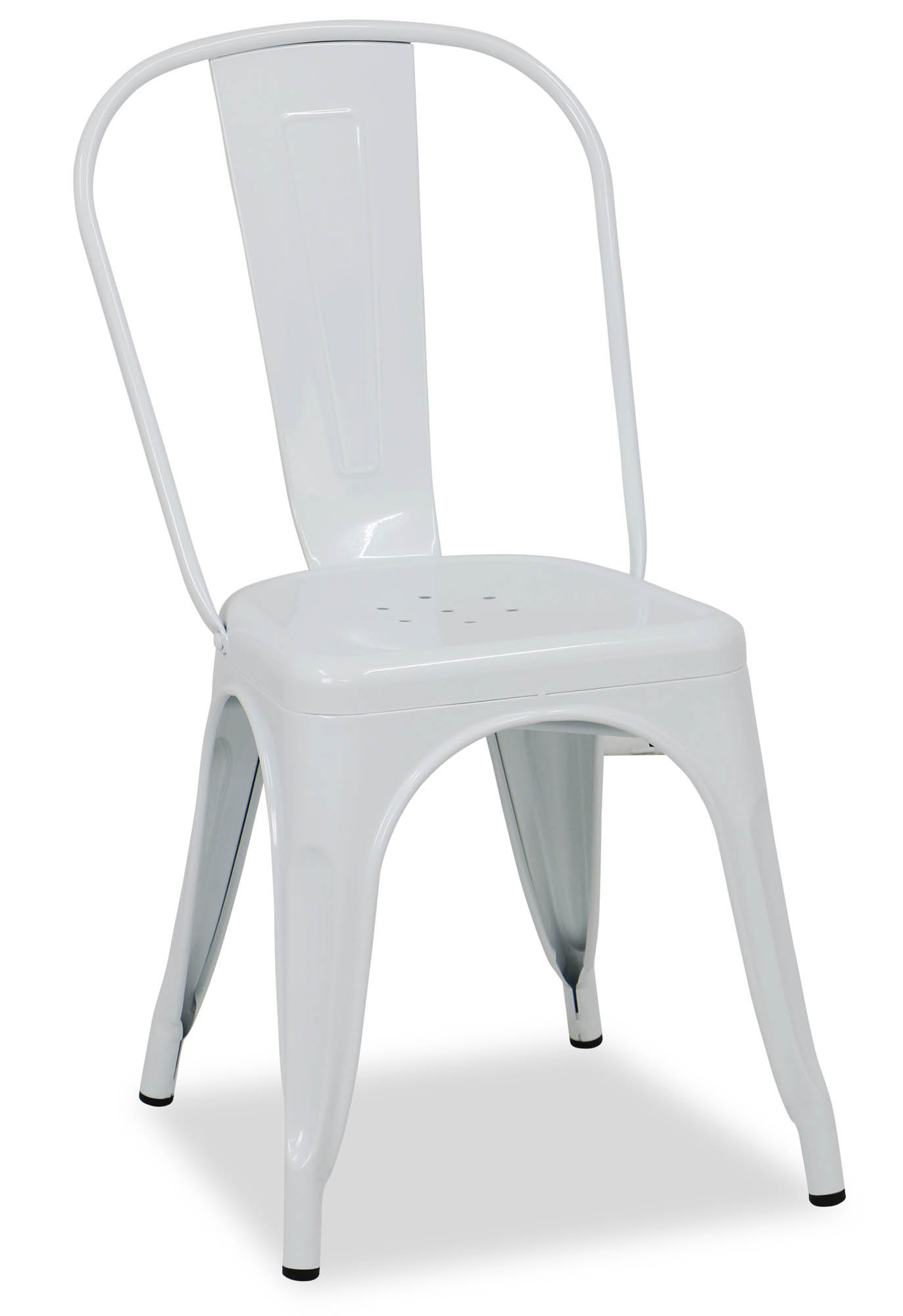 Retro Metal Chair White Dining Chairs Dining Room