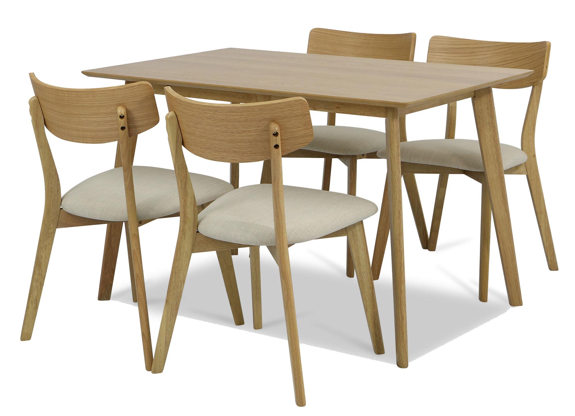 Ross Dining Table Set A (1+4)  76ab2af5b