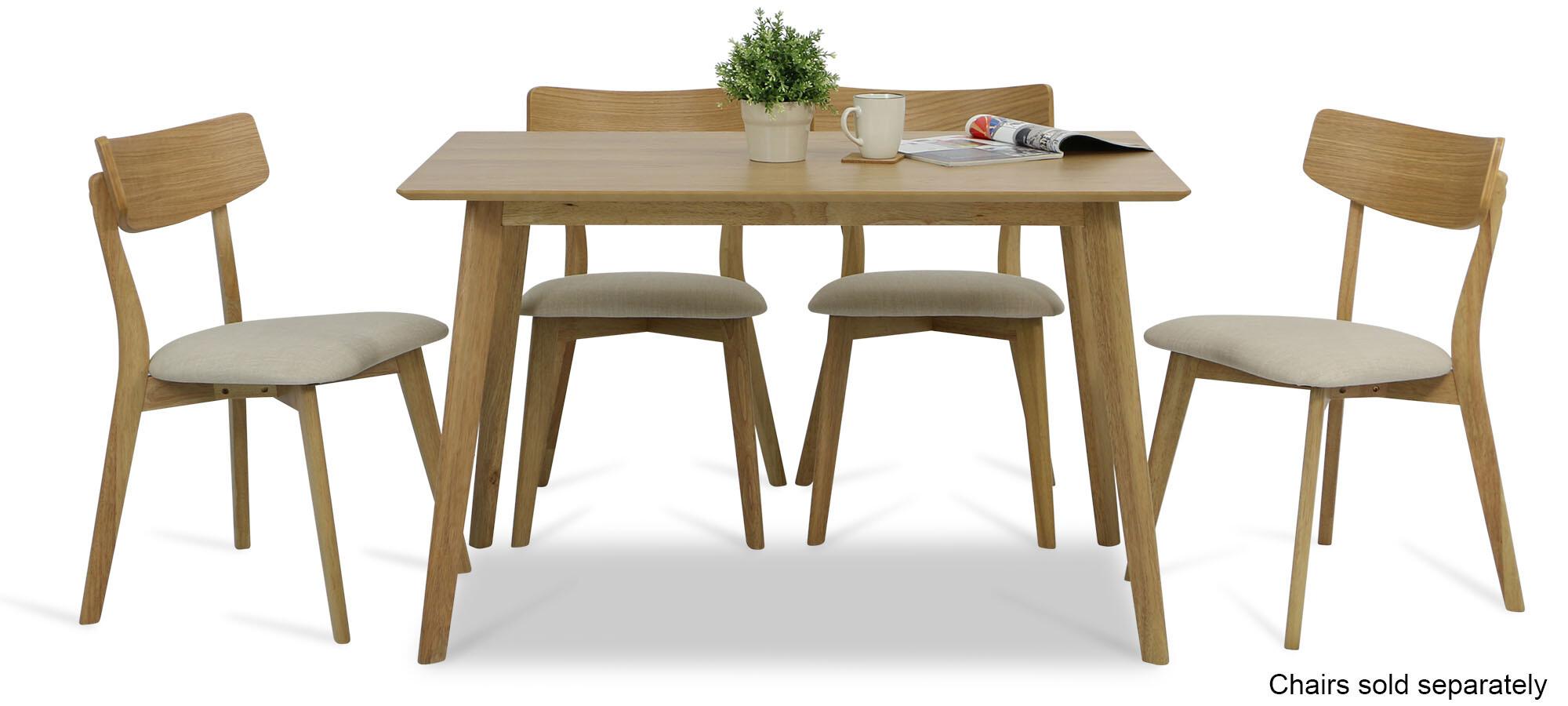 Groovy Ross Dining Table Oak Creativecarmelina Interior Chair Design Creativecarmelinacom