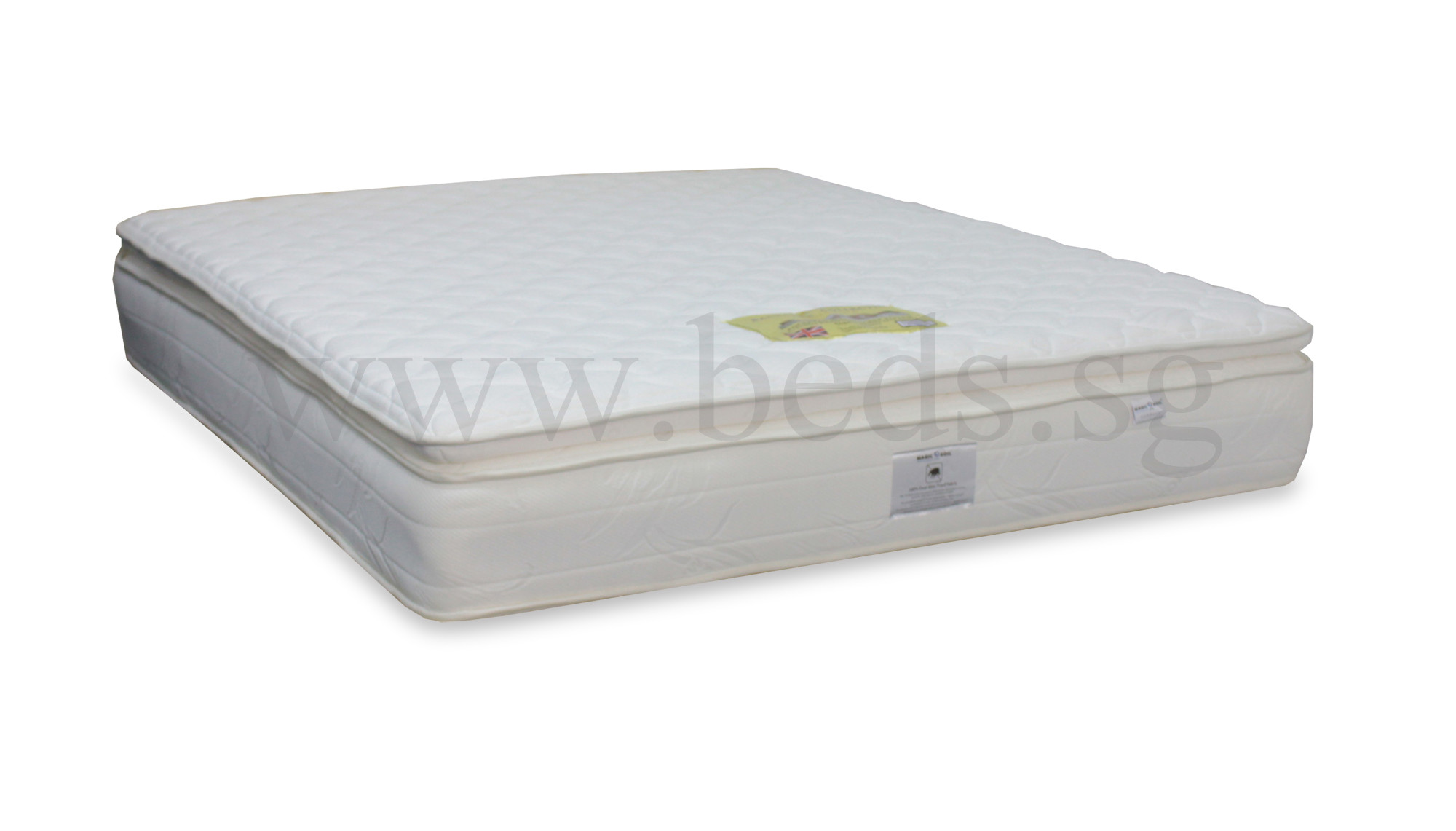Magic Koil Royal Luxury Pocketed Springs Pillow Top Mattress