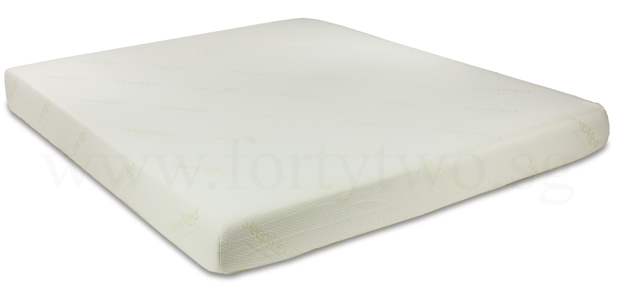 Sleepmed memory foam mattress king in 7 inch furniture home d cor fortytwo Memory foam king mattress