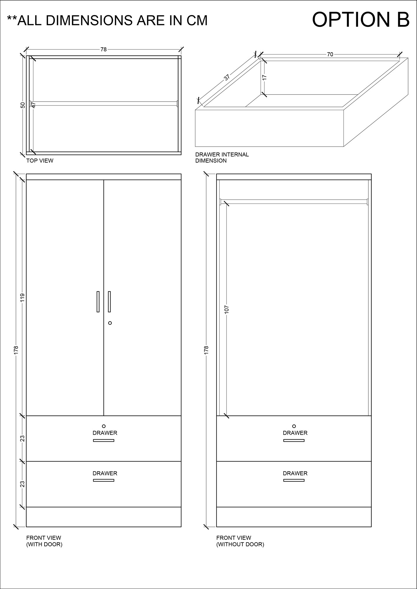Wardrobe 22 Furniture Amp Home D 233 Cor Fortytwo