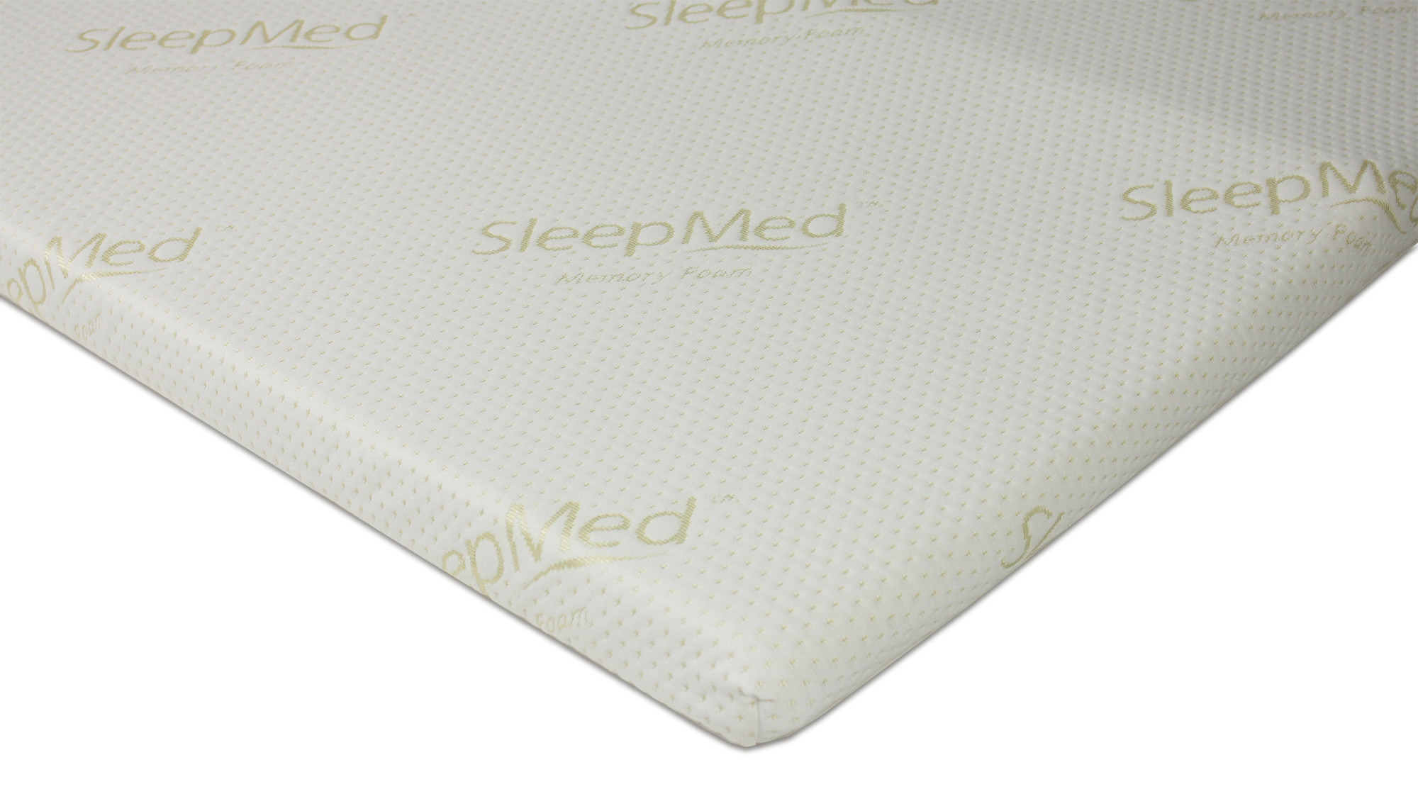 sleepmed memory foam topper (queen size) | furniture & home décor