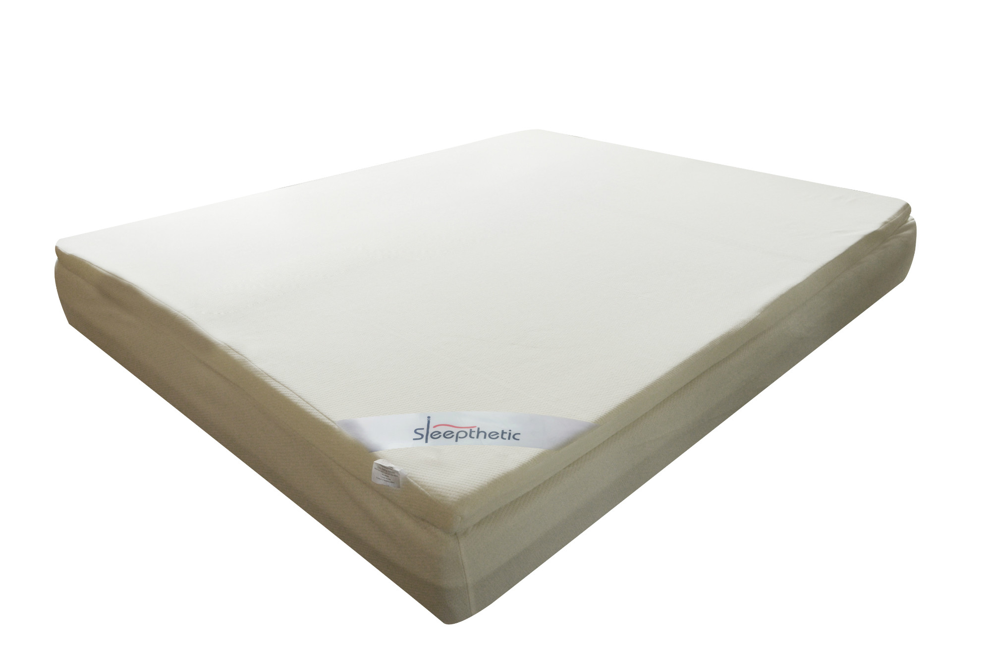 thick mattress pad. Sleepthetic™ Fitted Memory Foam Topper (Super Single 2 Inch Thick) Thick Mattress Pad