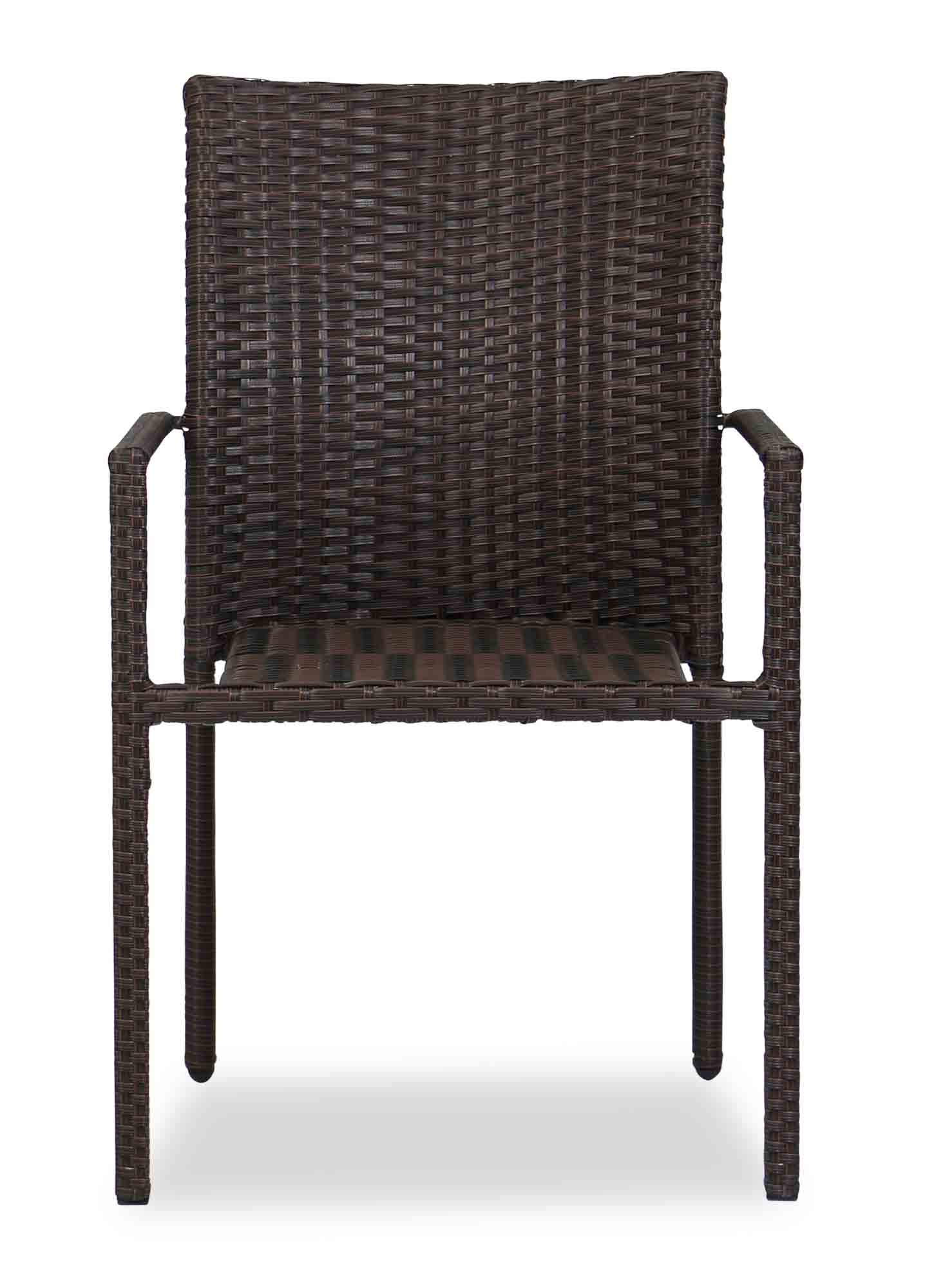 Picture of: Wakiky Outdoor Dining Chair Brown Furniture Home Decor Fortytwo