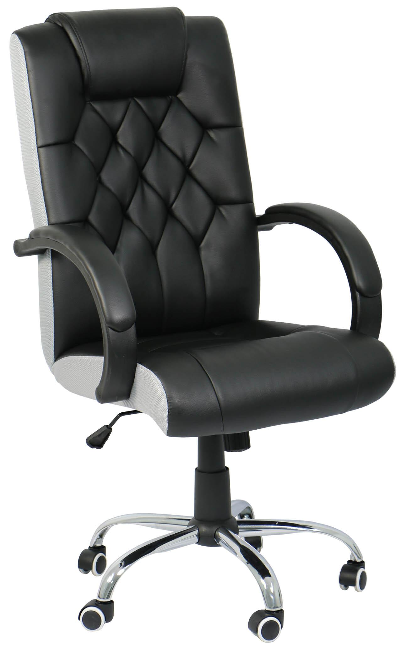 rockford executive office chair black furniture home dacor