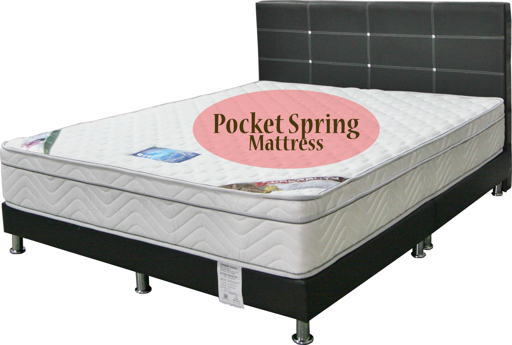 Special Deal Sleepynight Crestdale Comfort Pocketed Spring Mattress Bedframe Package