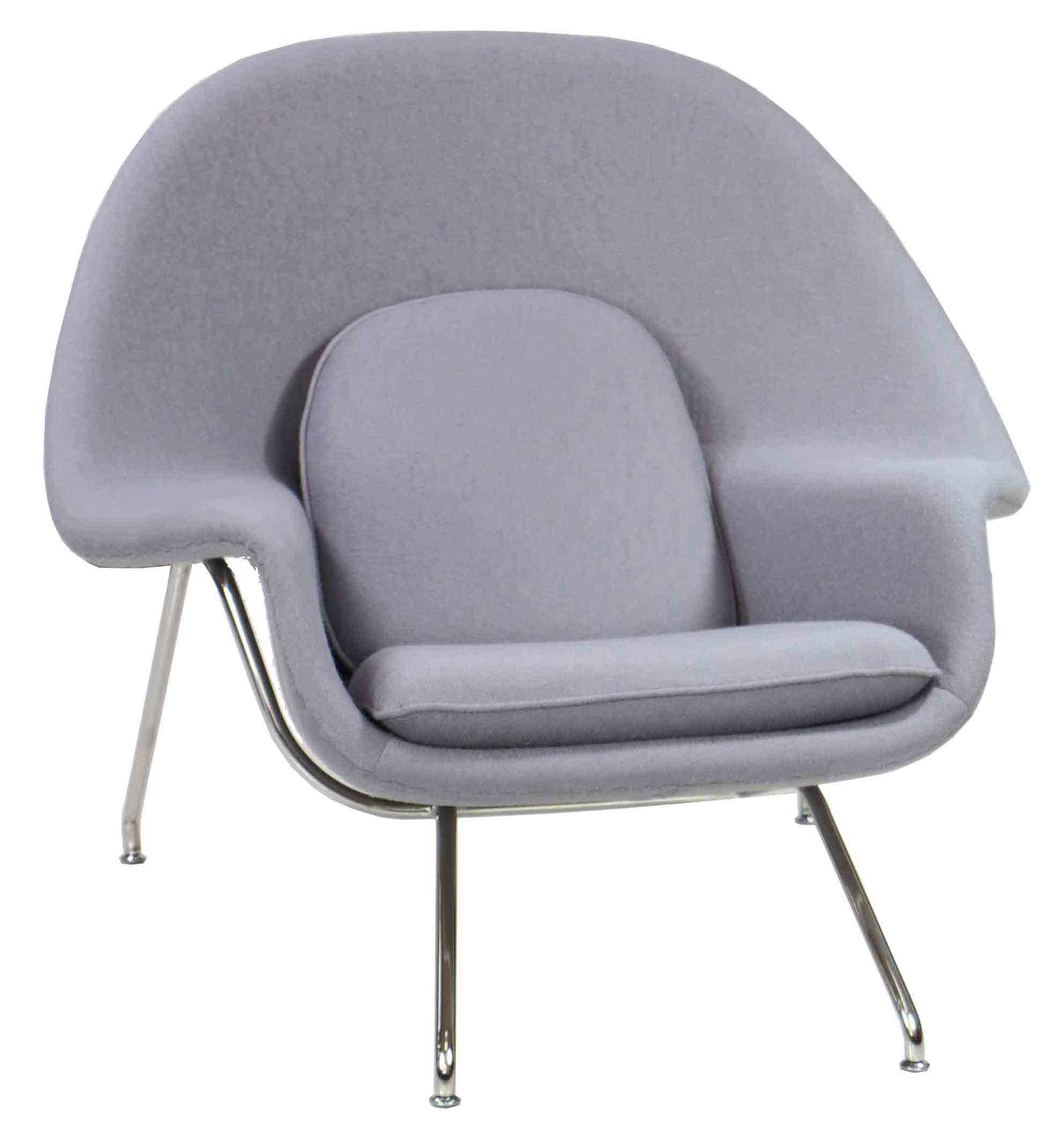 Designer Replica Womb Chair In Light Grey | Furniture U0026 Home Décor |  FortyTwo