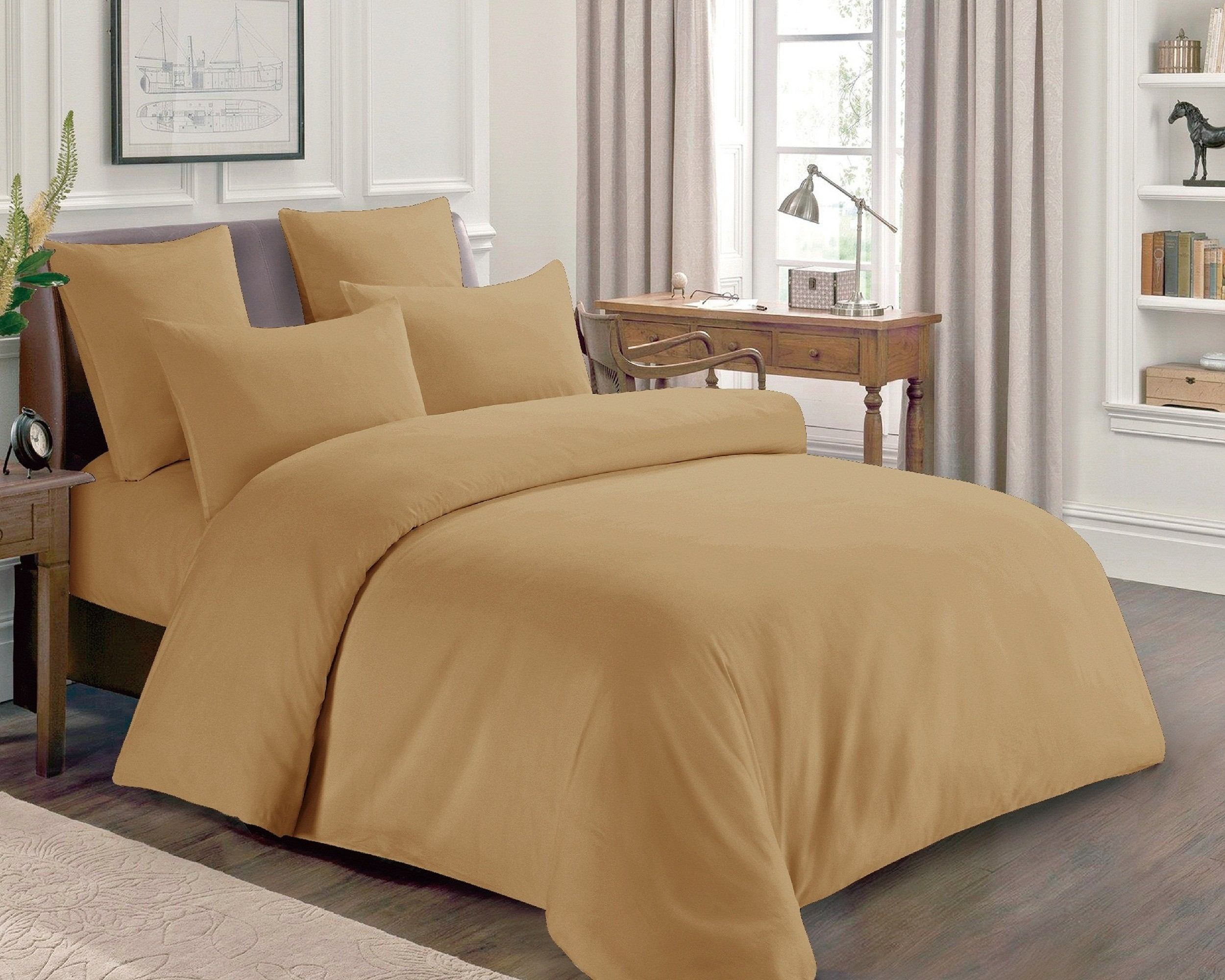 Isleep Premium Quality Soft Cotton Hotel Bed Sheet Set