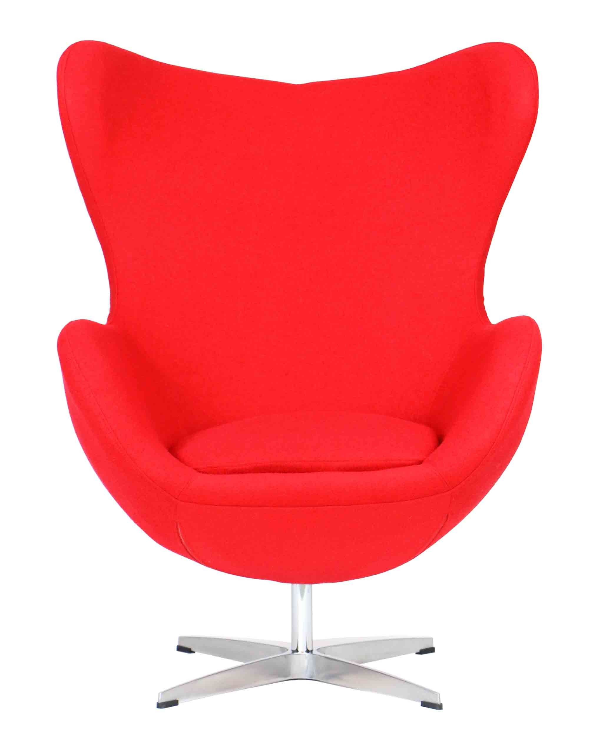 Designer Replica Egg Chair In Red Furniture Home Décor Fortytwo
