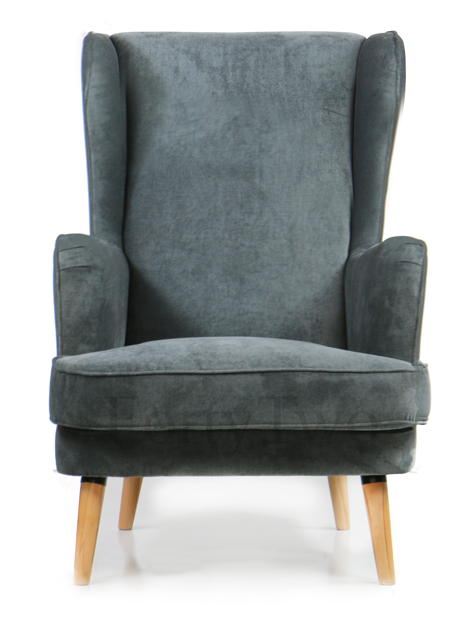 Cavali Arm Chair Smoke Armchairs Accent Chairs Seating