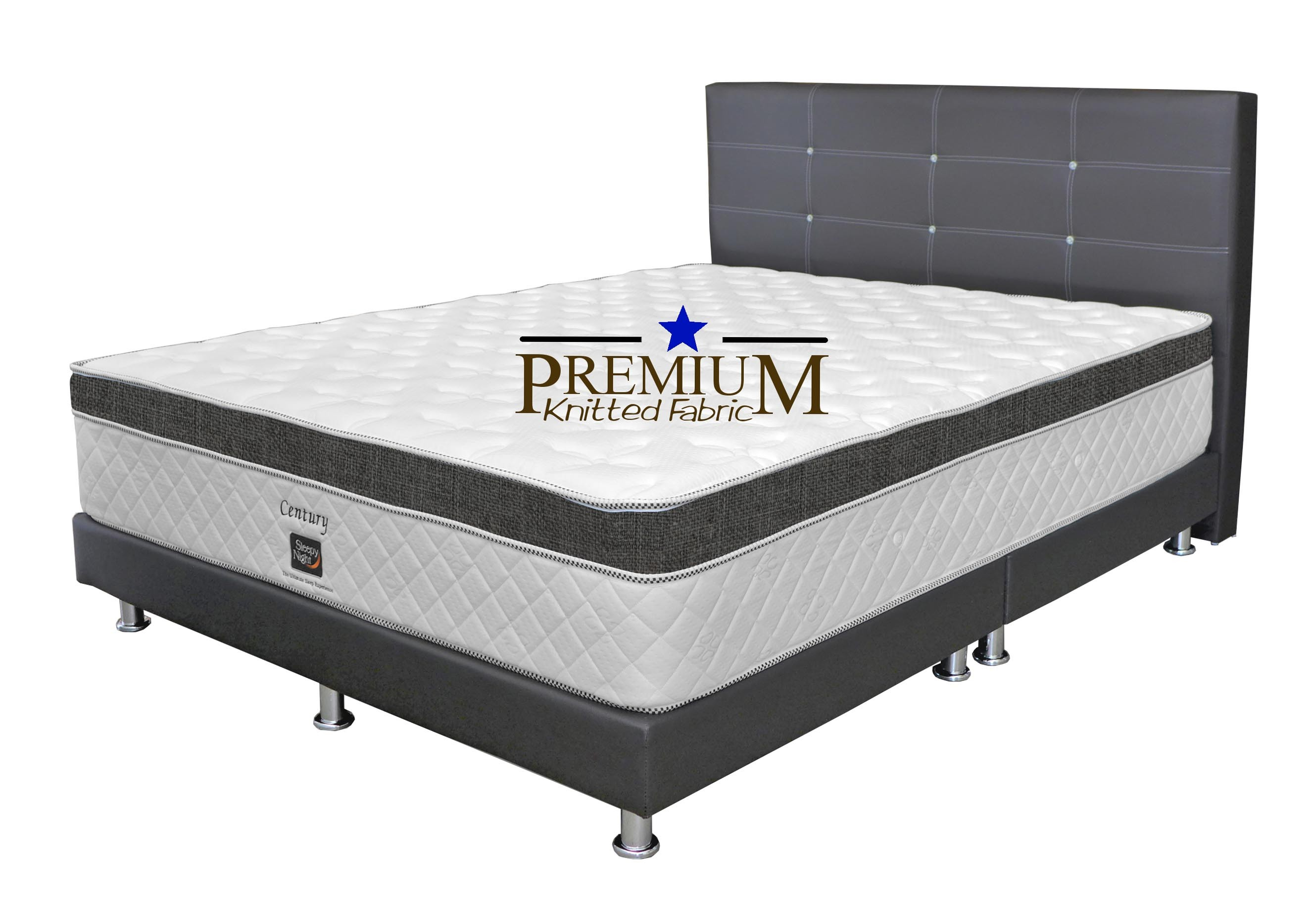 Special Deal: SleepyNight Century Orthopedic Spring Mattress + ...