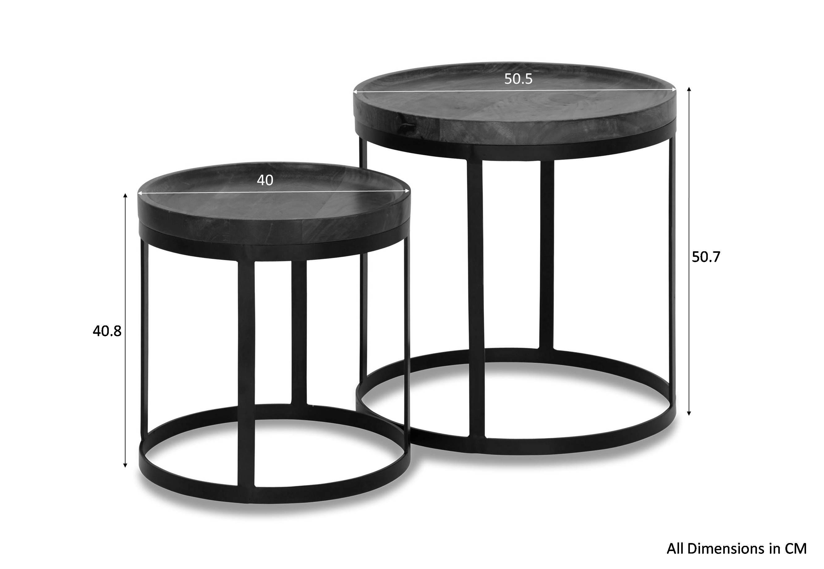 Areli 2pc Nesting Table Furniture Amp Home D 233 Cor Fortytwo