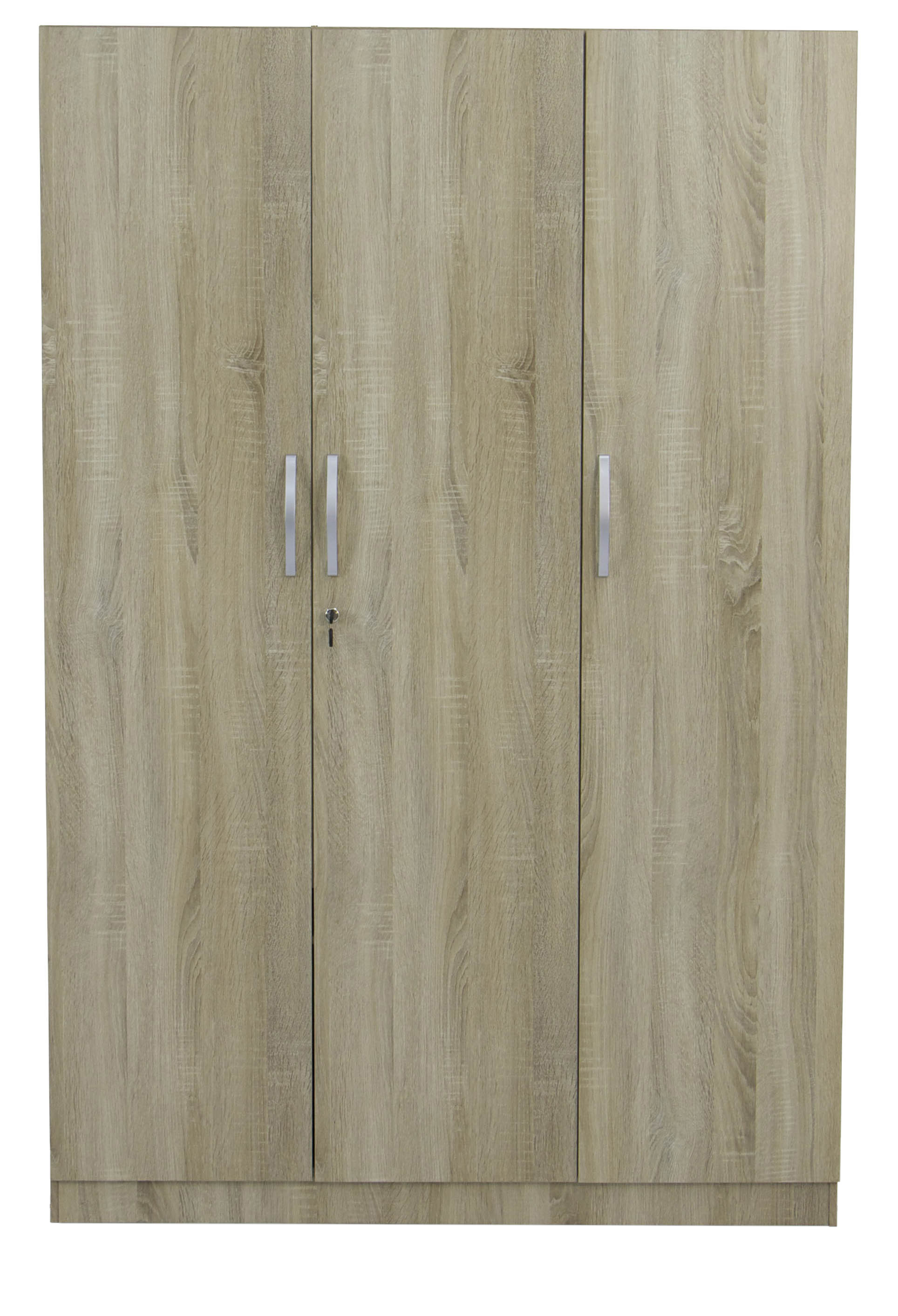 Malcom 3 door wardrobe in sonoma oak furniture home for Door 9 sonoma