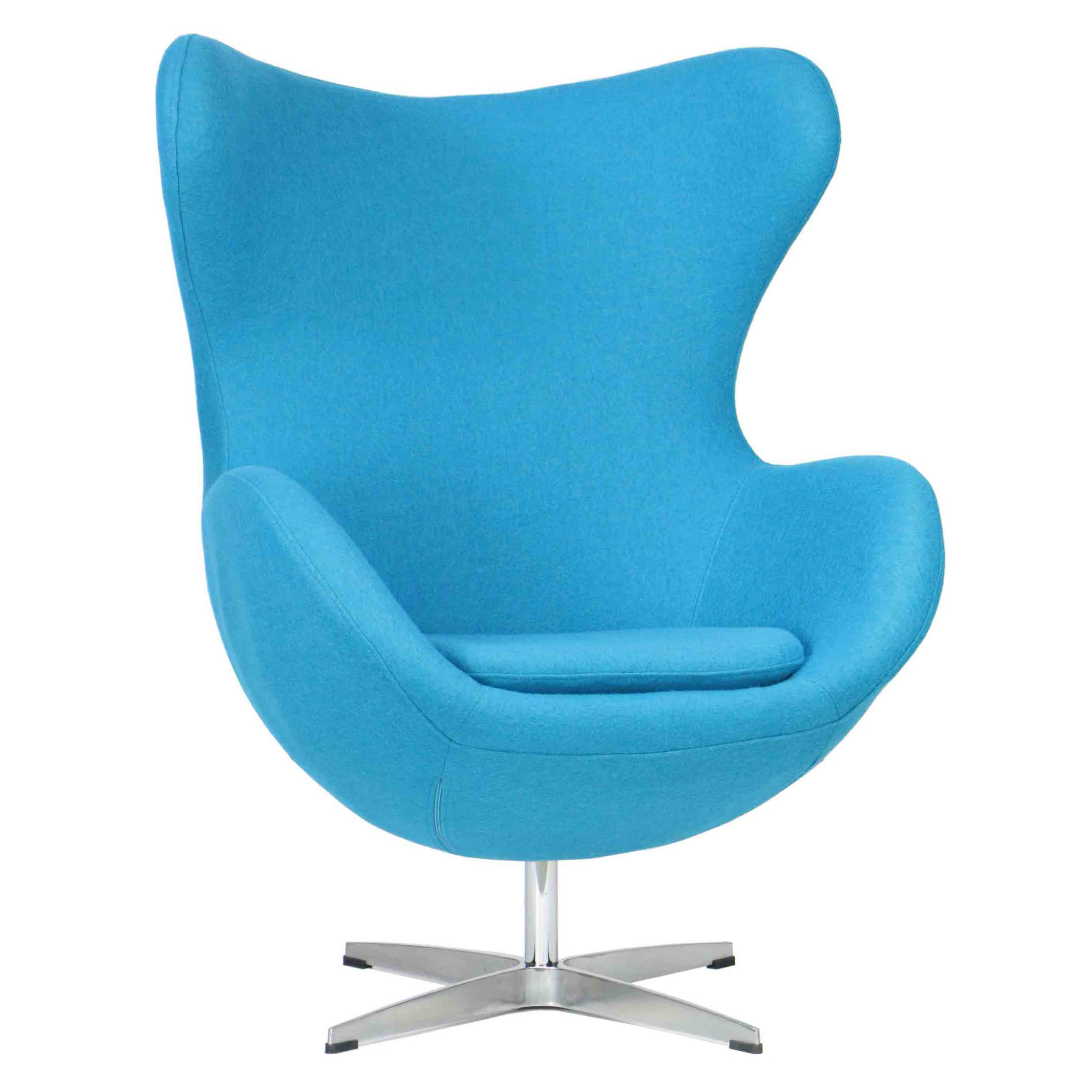 Designer Replica Egg Chair in Blue  sc 1 st  FortyTwo & Designer Replica Egg Chair in Blue | Furniture u0026 Home Décor | FortyTwo