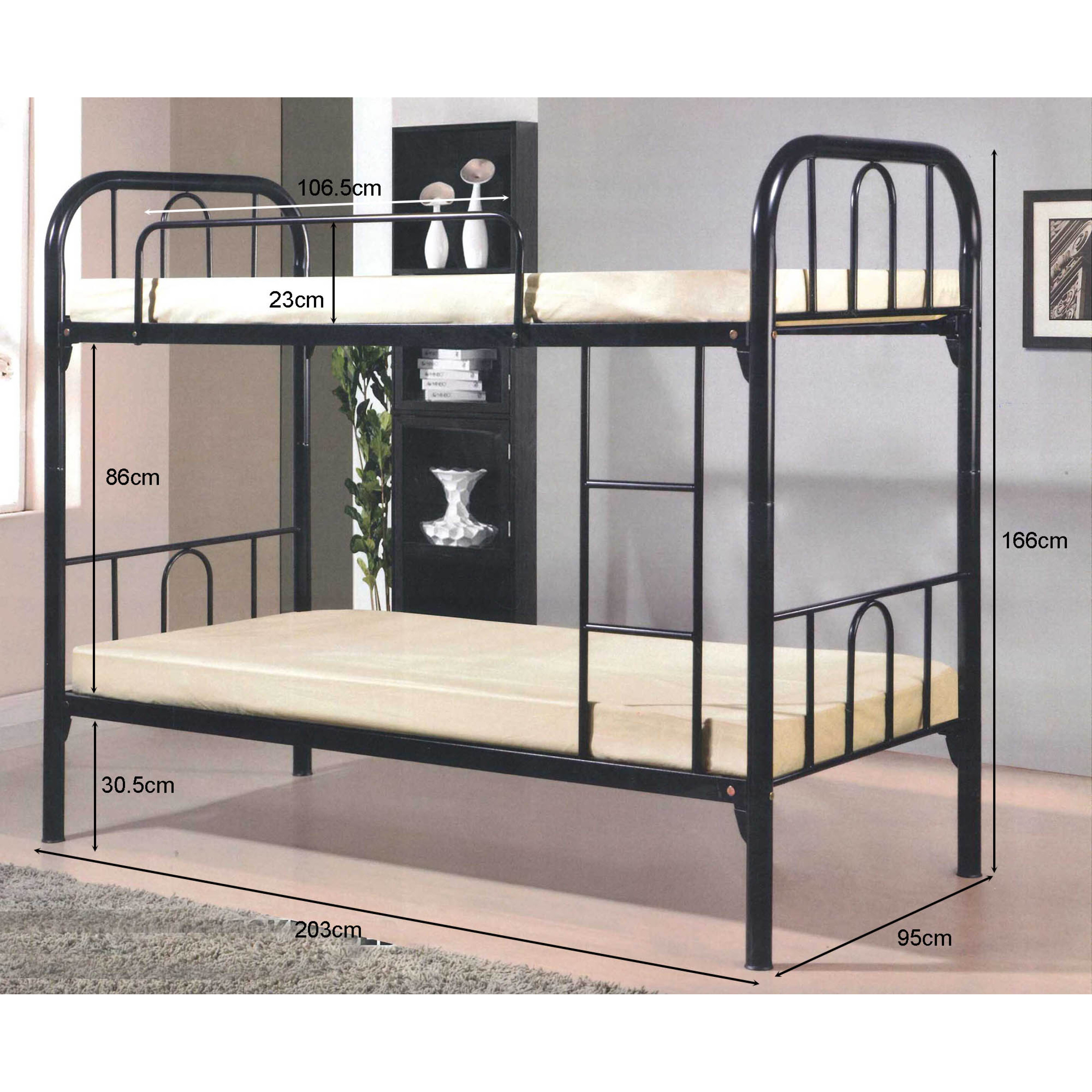 Safari Double Deck Metal Bed Regular S 590 00