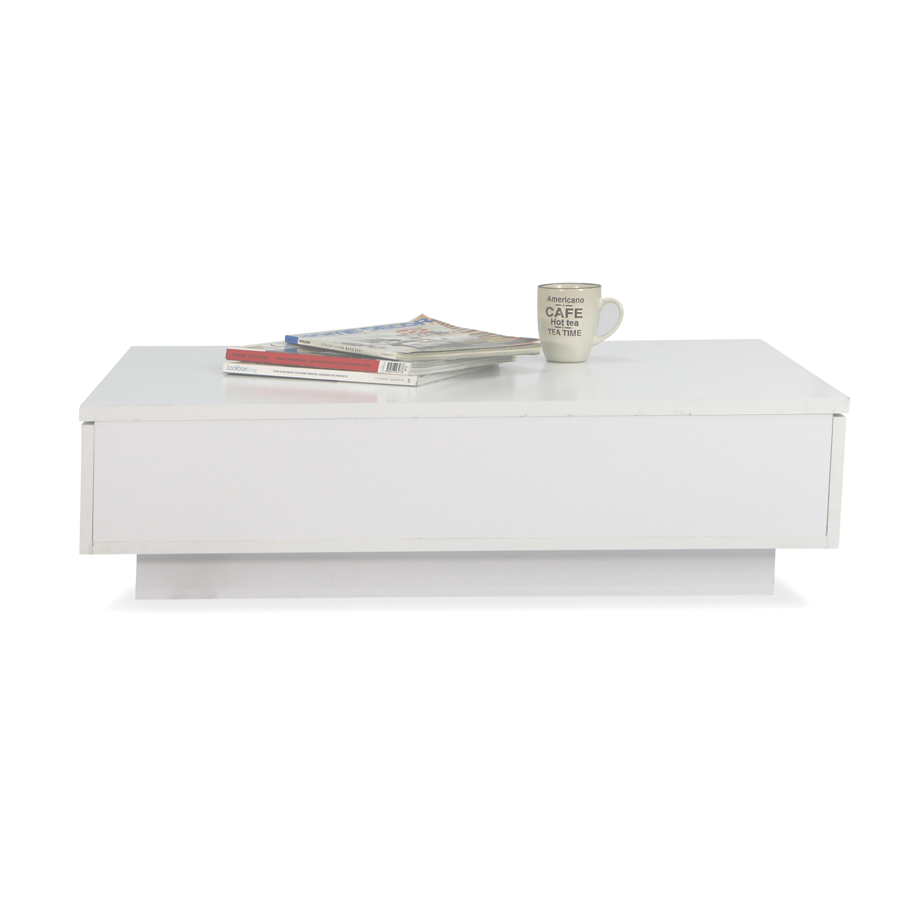 low coffee table. Avellino Low Coffee Table In Snow White