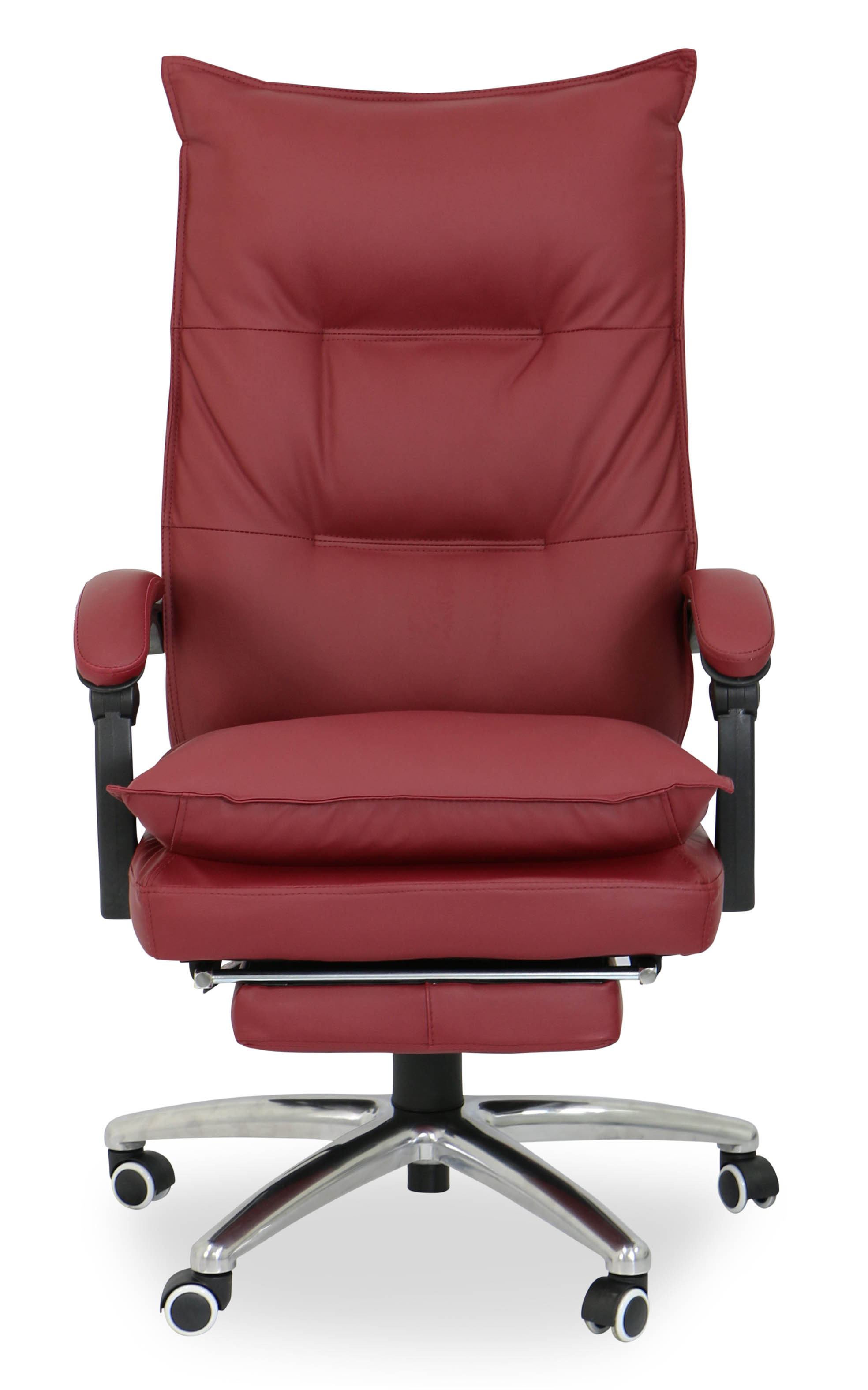 Deluxe Pu Executive fice Chair Maroon