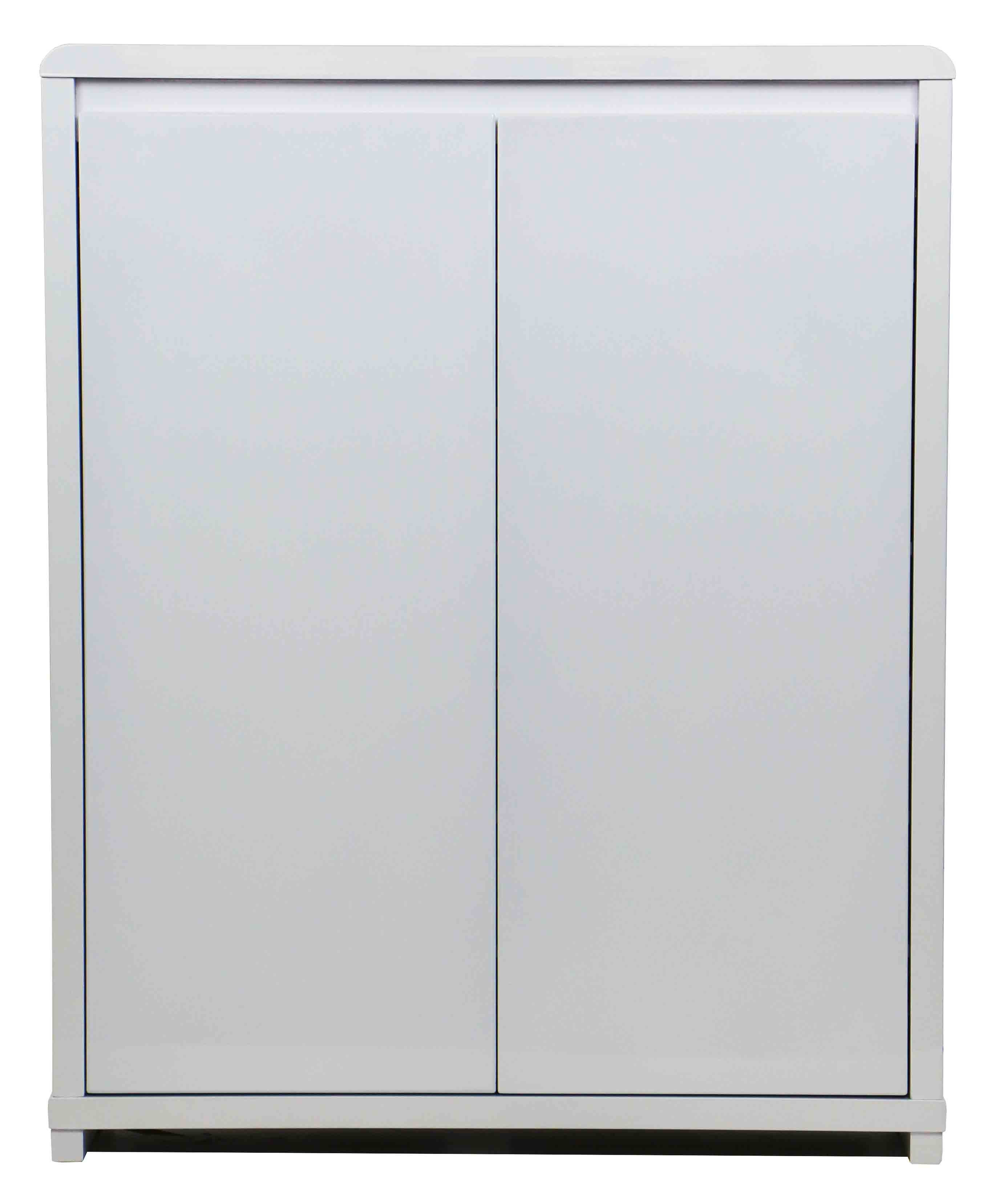 Prudence 2 Doors Shoe Cabinet White Furniture Home Décor Fortytwo