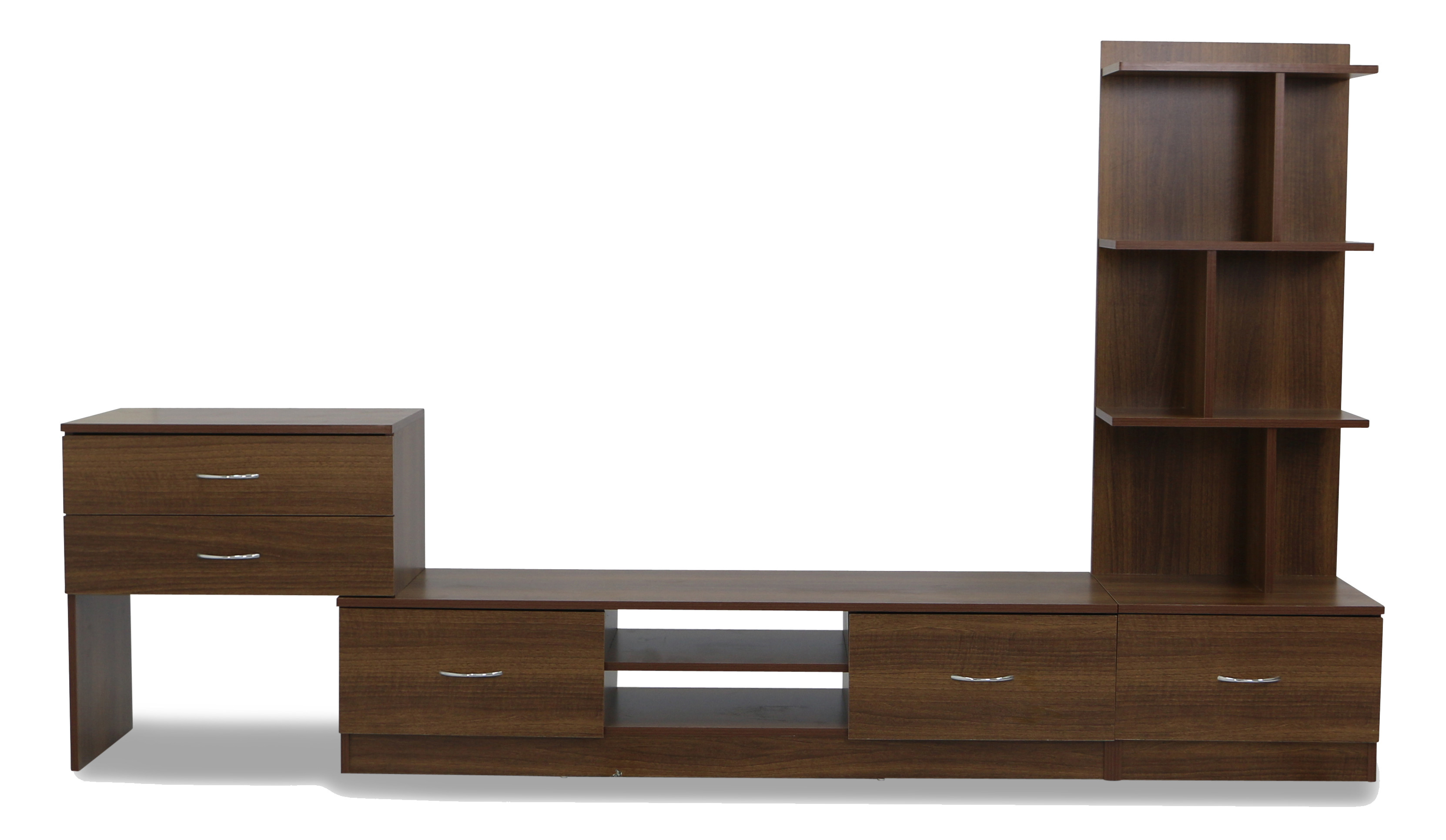 Reverso tv cabinet walnut
