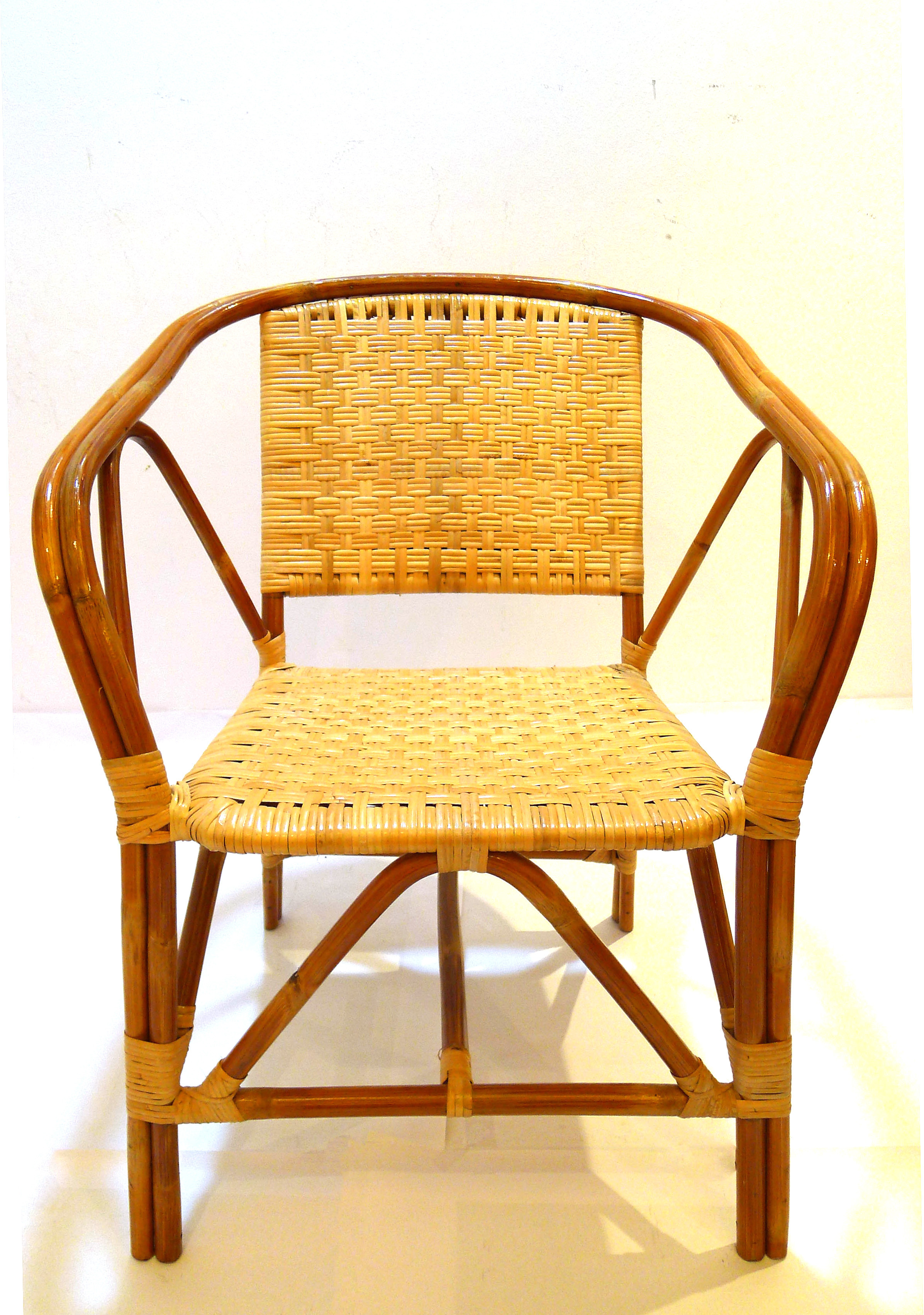 rattan and pin great for capri black looks across sheepskin natural a the flung it with chair chairs