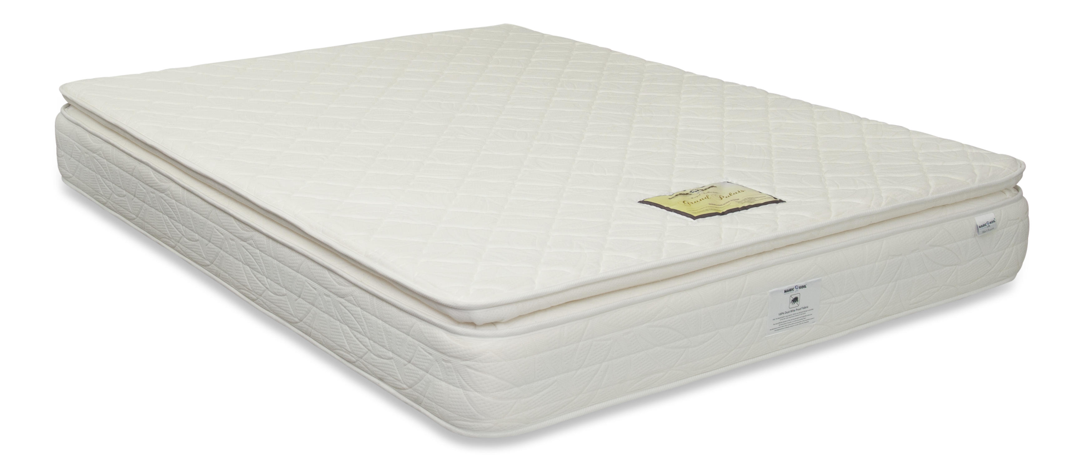 pillow top mattress. Magic Koil Royal Grand Palais Pillow Top Mattress