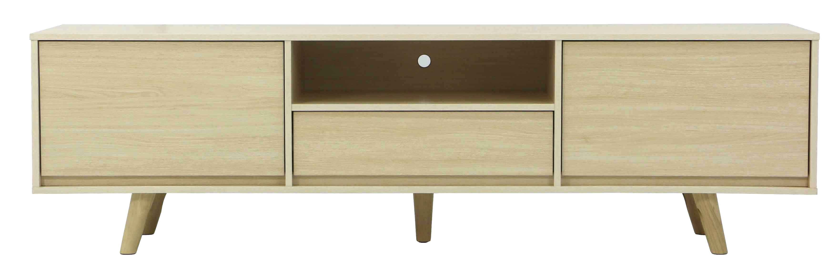 West Brook Tv Console White Oak Furniture Home Décor Fortytwo