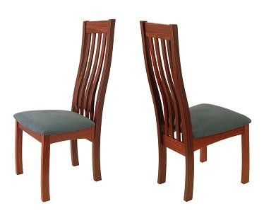 Sheldon Solid Jarrah Timber Dining Chair Furniture Home Decor