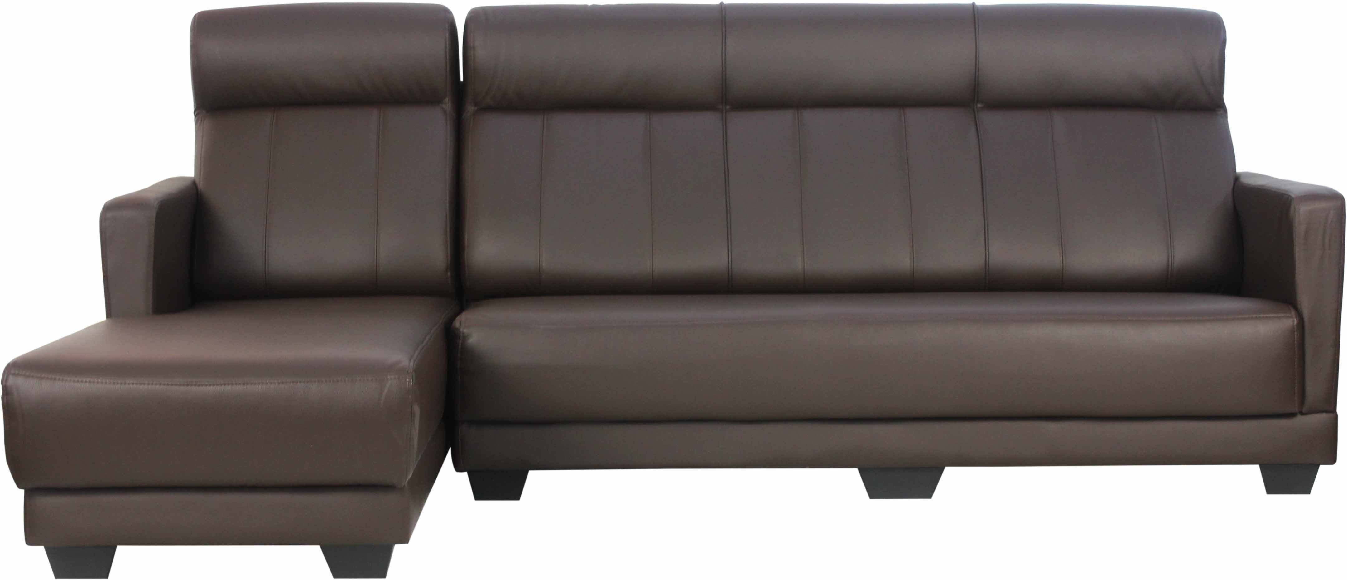 Stacy 4 seater l shaped sofa set furniture home d cor for 9 seater sofa set designs