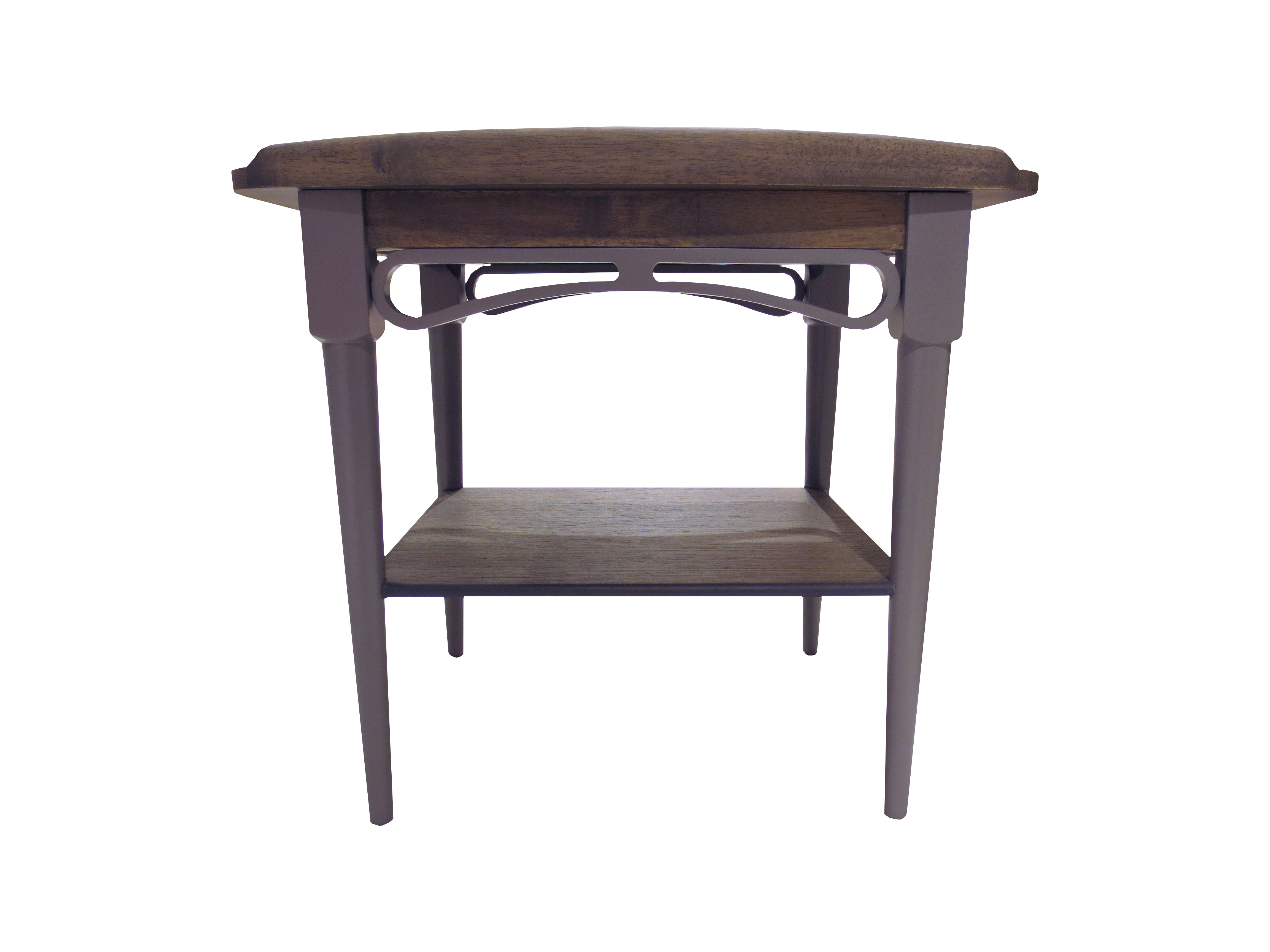 Philos Ring Side Table Black Wash