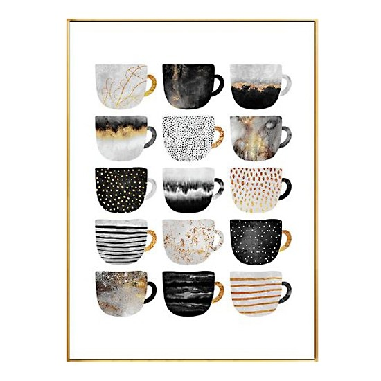 Coffee Mugs Canvas Wall Art Furniture Home Decor Fortytwo