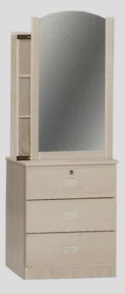 save off 51ba7 e1b80 Yuuki Dressing Table with Storage II