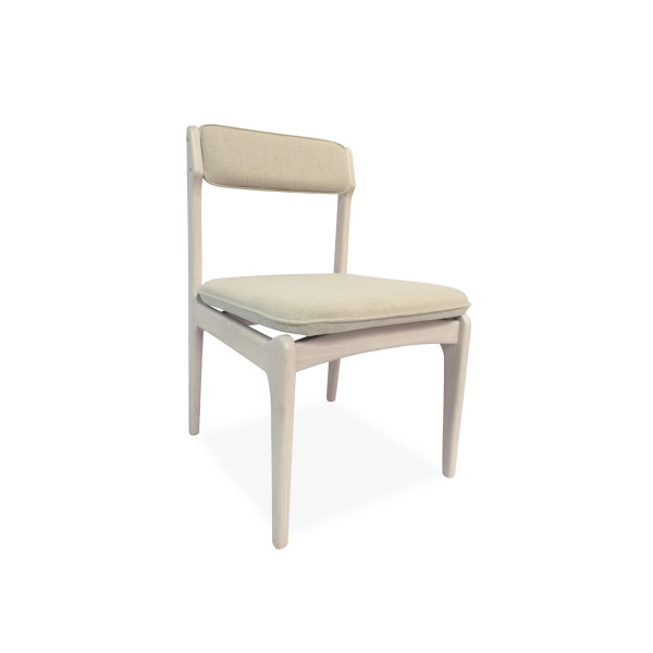 Philos - Retro Dining Chair Natural (AC1413)