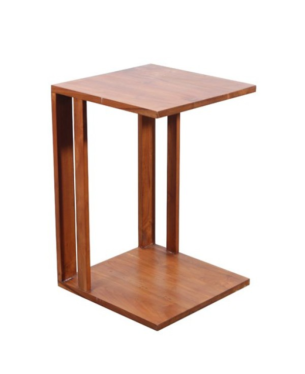 Panchali teak sofa side table side tables living room Sofa side table