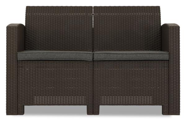 Nina 2 seater sofa brown furniture home d cor fortytwo - Sofas para ninas ...