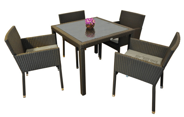 Victory Dining Set Dark Brown Furniture Home D Cor Fortytwo