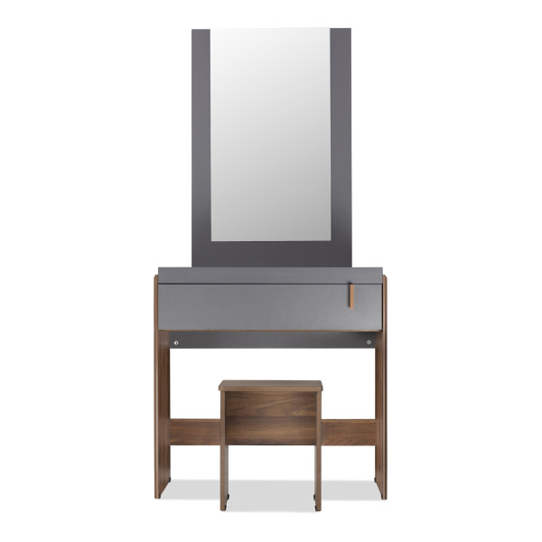 Ashry Dressing Table With Stool