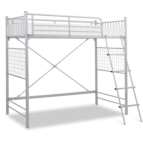 Vitoy Metal Single Size Loft Bed