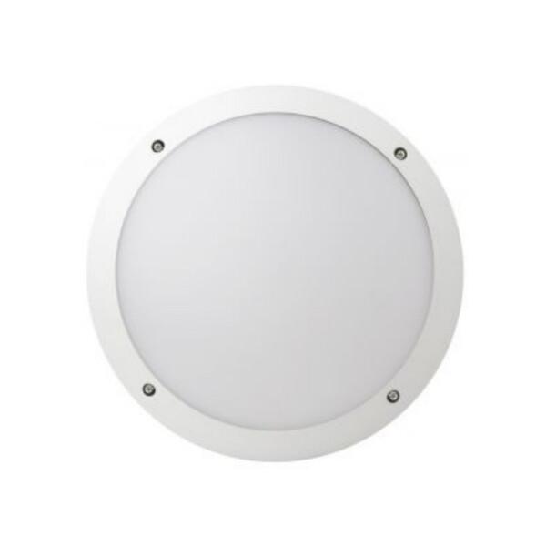 Megaman FONDA 10.5w (White) Round Outdoor Bulkhead / 3000K / Warmwhite