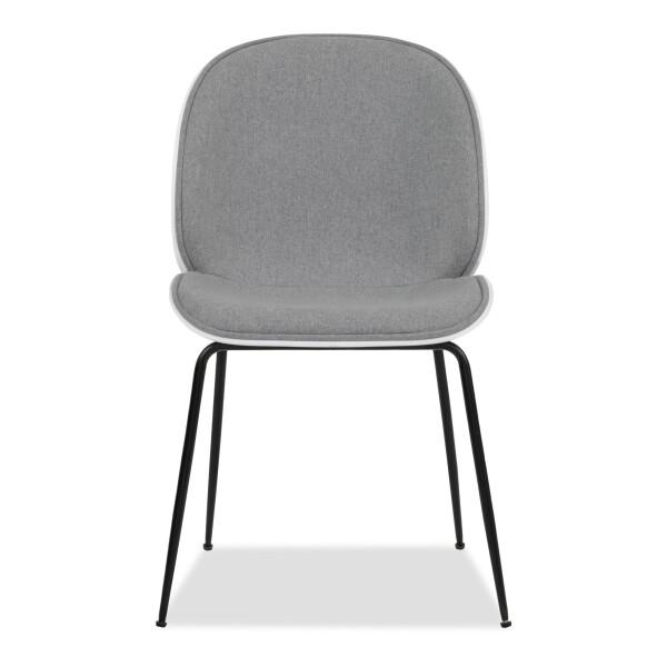 Beetle Chair Replica (Fabric Grey)
