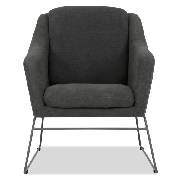 Cale Designer Armchair (Charcoal)