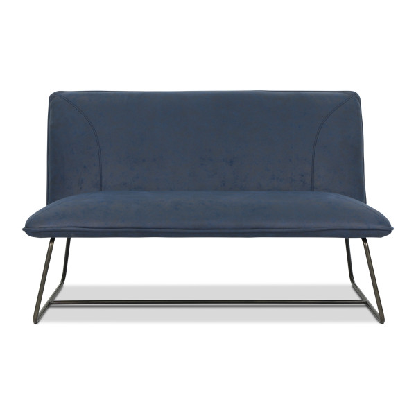 Antika 2 Seater Sofa (Midnight Blue)