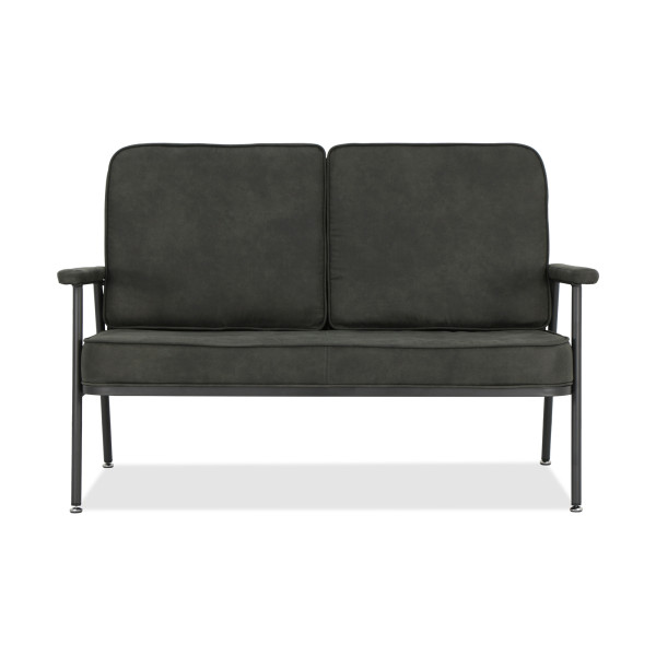 Polina 2 Seater Sofa in Licorice