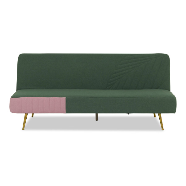 Musa Sofa Bed in Emerald Green