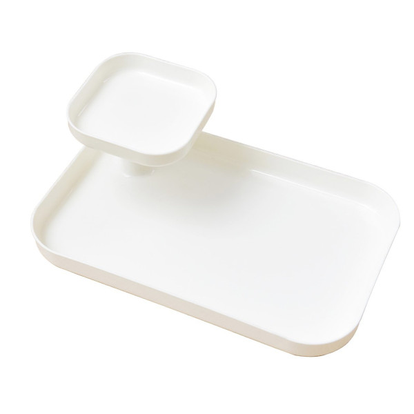 Hisa Multifunctional White Tray