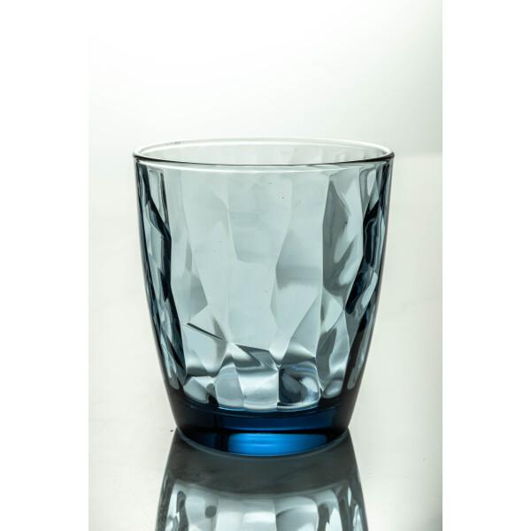 Diamond DOF Glass 390ml (Ocean Blue)