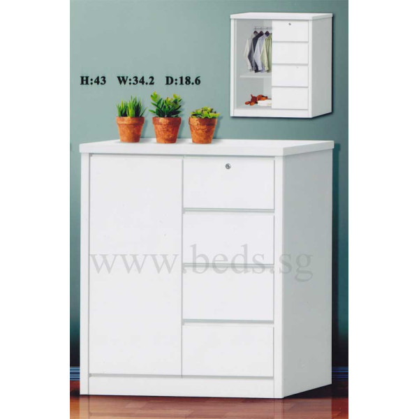 Coast Multipurpose Chest White
